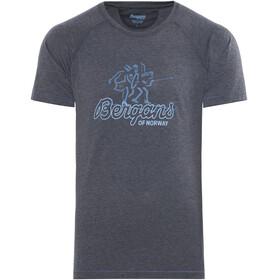 Bergans Tee Kortærmet T-shirt Herrer blå
